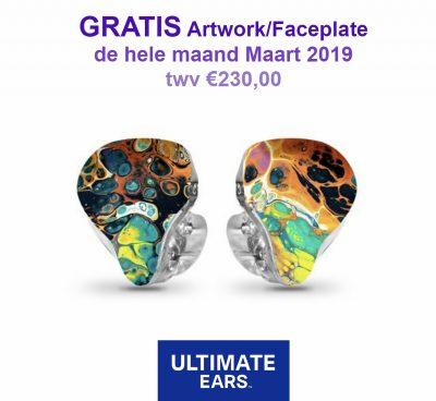 Ultimate Ears Aktie Maart 2019