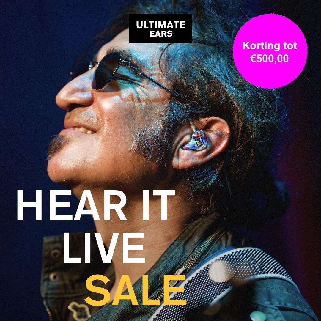 Hear It Live Sale